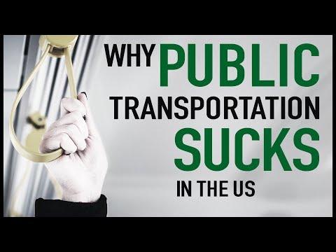 Proč mají USA špatnou veřejnou dopravu?
