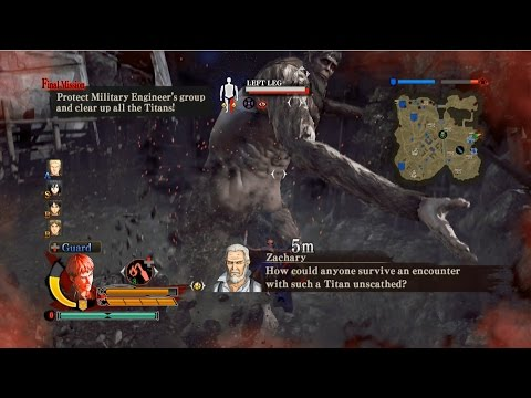 Steam Community :: Video :: Attack on Titan Wings of Freedom