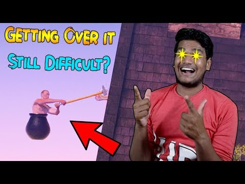 I actually made progress in this game.....[Getting Over It]