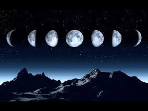 The Moon Phases and Spell Casting ~ New Moon, Waxing, Full, and Waning Moon
