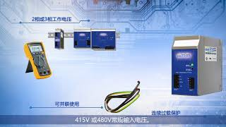 REDIN: DIN Rail mounted Power Supplies (Chinese Subtitles)