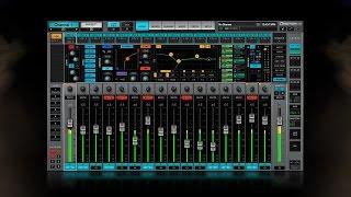 Waves eMotion LV1 Live Mixer – Quick-Start Tutorial