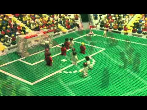 LEGO SOCCER INDONESIA VS GERMANY