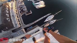 Guy jumps Off a Building Without a Parachute