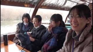 新潟シティチャンネル観光クルーズ船の試験運航
