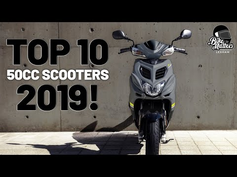 Top 10 50cc Scooters 2019! Some of the best scooters for beginners!