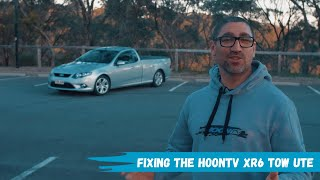 Upgrading the Ford Falcon XR6 brakes