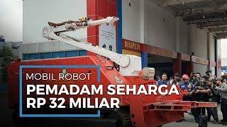 Inilah Spesifikasi Mobil Robot Pemadam Api Milik Pemprov DKI Jakarta Seharga Rp32 M dari Kroasia