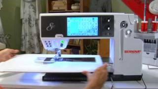 3/21 Nähmaschine BERNINA 830 Video Anleitung: Grundfunktionen