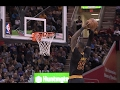 LeBron James Rises for the Two-Handed Slam | 02.15.17