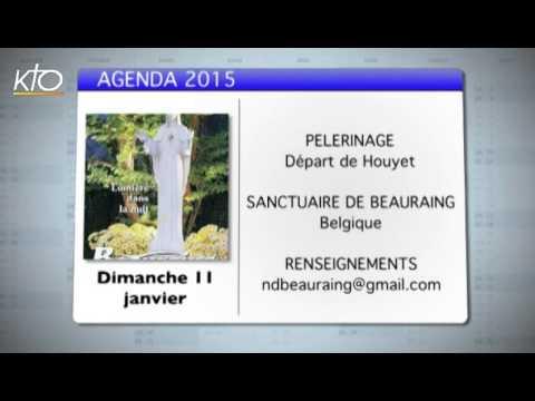 Agenda du 5 janvier 2015