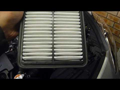 How to change Hyundai i30 Air Filter in Hd
