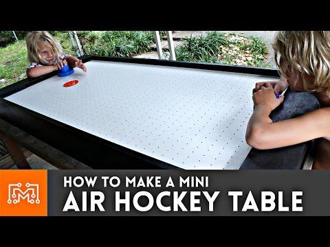 Mini Air Hockey Table // How-To