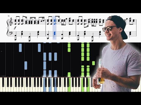 Kygo - Remind Me To Forget - Piano Tutorial + SHEETS