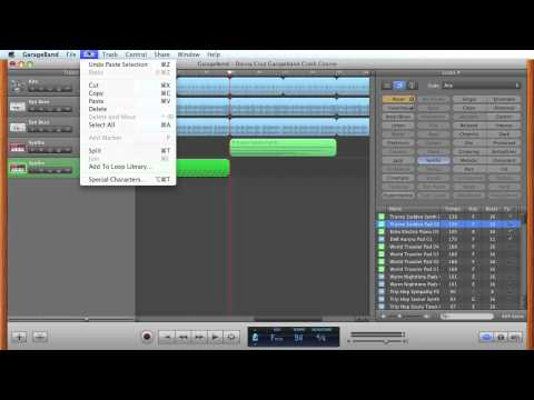 Apple Garageband Crash Course – How to Create Your Own Video Soundtrack