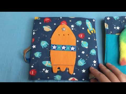 Quiet book - Beschäftigungsbuch für kleine Kinder