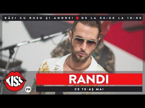 Randi – Ce te-as mai [Kiss Fm] Video