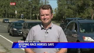 Del Mar accident has California Horse Racing Community Concerned
