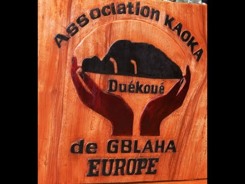 Cérémonie d'investiture de l'association KAOKA DE GBLAHA DE DUEKOUE EN EUROPE