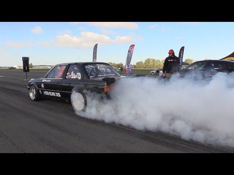 820HP BMW 325i E30 Turbo vs 950HP Mercedes-AMG GLC63s