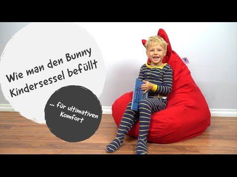 So befüllst du den Bunny Kindersessel von Teddy and Flower für maximalen Komfort