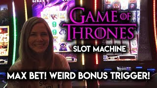 MAX Bet! Game of Thrones Slot Machine! Crazy DOUBLE BONUS!