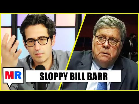 Bill Barr Was Up To Some Wild Stuff, Allegedly