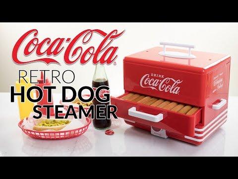 HDS248COKE | Coca-Cola® Hot Dog Steamer