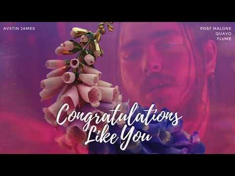 AVSTIN JAMES - Congratulations Like You (Post Malone feat. Quavo X Flume)