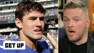 Pat McAfee: Daniel Jones elevates the Giants like Eli Manning couldn't   Get Up