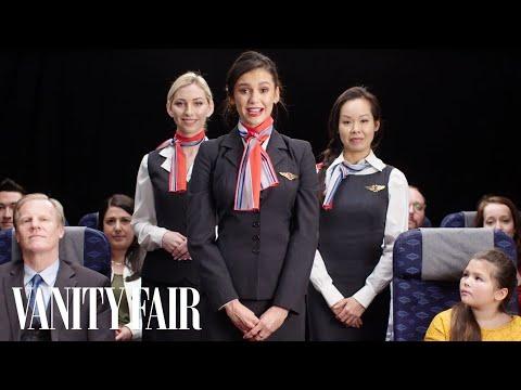 Нина Добрев стана стюардеса на БГ авиолиния (ВИДЕО)