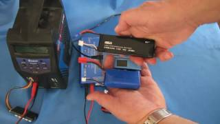 LiPo Batteries and Balance Chargers