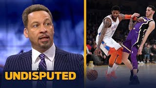 Chris Broussard reacts to the Lakers