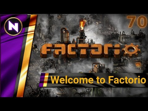 Welcome to Factorio 0.17 #70 IDLE TRAIN TRAFFIC