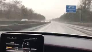 C45 AMG | Deutsche Autobahn | 180 Km/h & extremer Regen #4