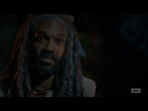 The Walking Dead - King Ezekiel tries to persuade Carol not to leave.