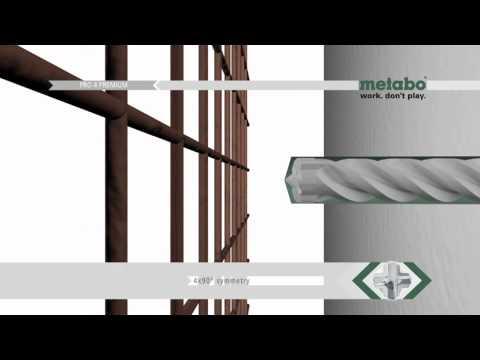 Metabo - Brocas Pro 4 Premium ENG (www.duravit.pt)
