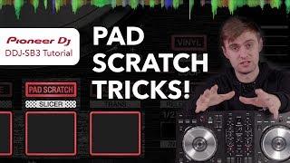 Pioneer DDJ SB3 Tutorial – Pad Scratch Tricks!