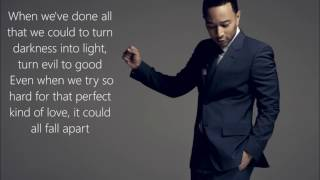 John Legend   Love Me Now | Lyrics On Screen