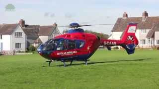 preview picture of video 'Eurocopter EC135 - Devon Air Ambulance (full length version)'