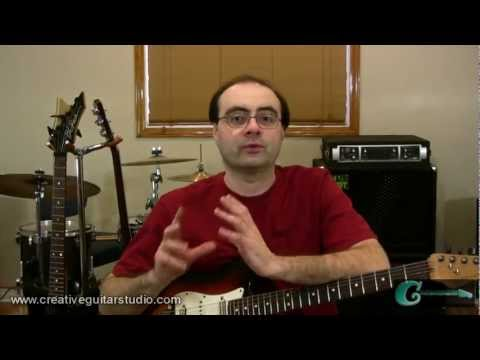 GUITAR THEORY: Single Finger Chords