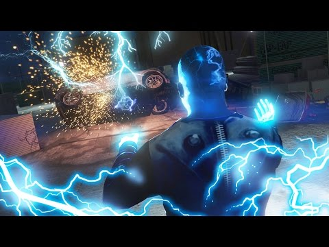 GTA 5 mods - ULTIMATE ELECTRIC MAN MOD!! GTA 5 Electric Man Mod Gameplay! (GTA 5 Mods Gameplay)