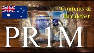 "Australia ""PR1M"" Patrol Ration, 1 Man ~2018!~"