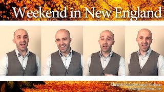 Weekend in New England (Barry Manilow) - Barbershop Quartet