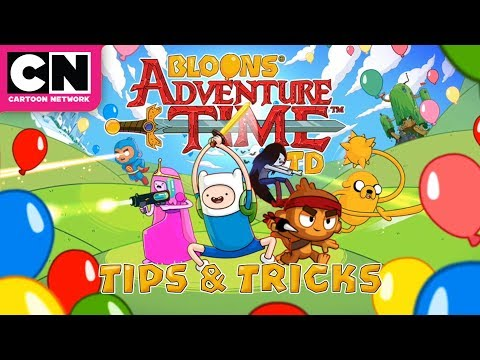 Adventure Time | Bloons TD Tips & Tricks | Cartoon Network