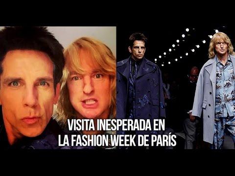 hqdefault - Una visita inesperada en este desfile de moda en Paris... Zoolander!