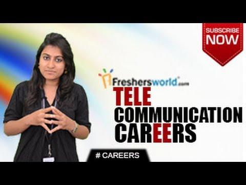 CAREERS IN TELECOMMUNICATIONS – B.Sc,B.Tech,Certificate ...