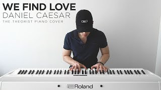 Daniel Caesar   We Find Love | The Theorist Piano Cover