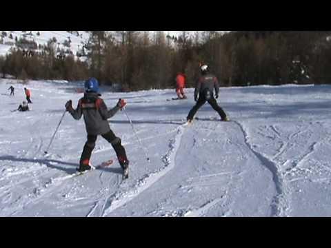 immagine di anteprima del video: Alessio e Dario sugli sci
