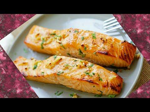 Fresh Baked Salmon Recipe   Fish Recipe- How to Bake Fish   Buttery Salmon Bake